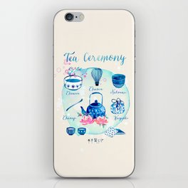 Tea Ceremony iPhone Skin