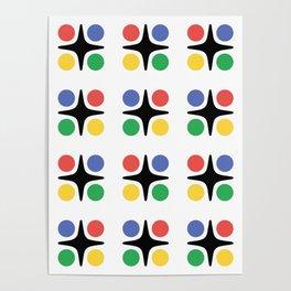 Modernist Pattern Poster