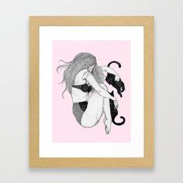 L O V E C A T S Framed Art Print