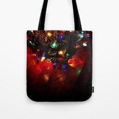 colored lights - christmas Tote Bag