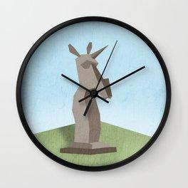 Monolithic Unicorn Wall Clock