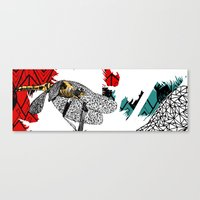 insect Canvas Prints featuring insect by Ferdane Aydın