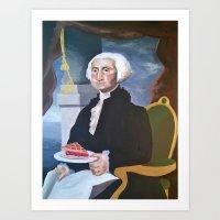 Washington's Pie Art Print