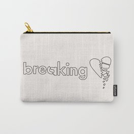 Breaking Hearts Carry-All Pouch