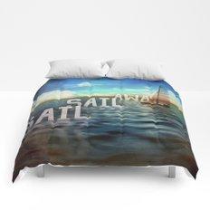Sail, Sail Away Comforters