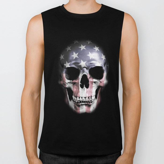 American Skull Biker Tank
