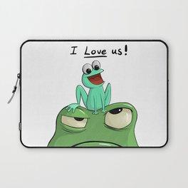 I Love Us Laptop Sleeve