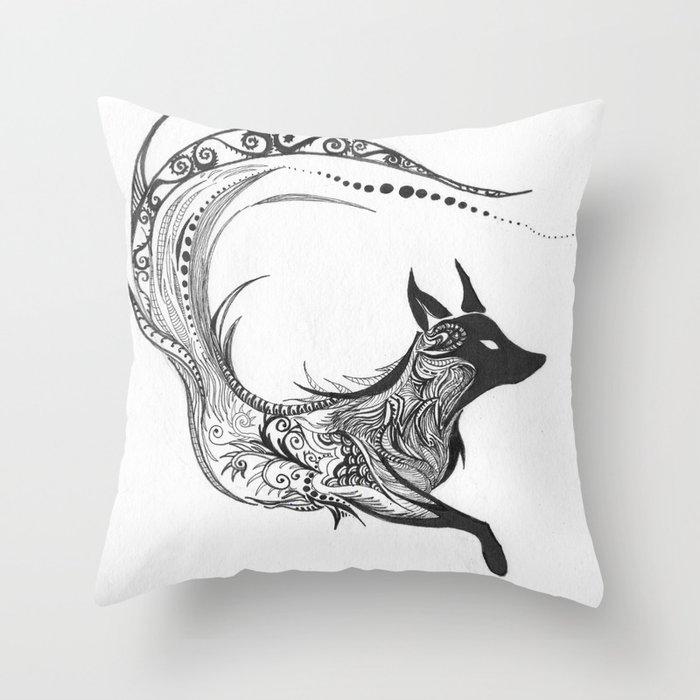 Sly Spirit Throw Pillow