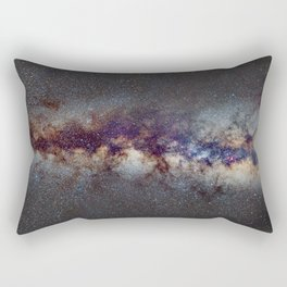The Milky Way: from Scorpio, Antares and Sagitarius to Scutum and Cygnus Rectangular Pillow