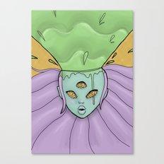 Goo-splosion Canvas Print