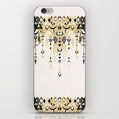 Modern Deco in Black and Cream iPhone & iPod Skin