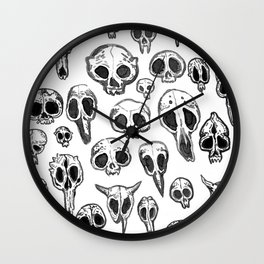 bestiary Wall Clock