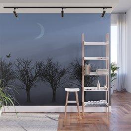 4 Trees Wall Mural