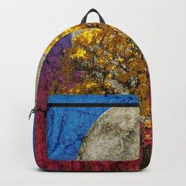 Flavo luna in ligno Backpack