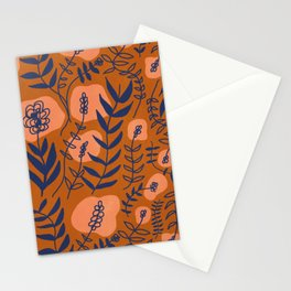 vines in rust Stationery Cards
