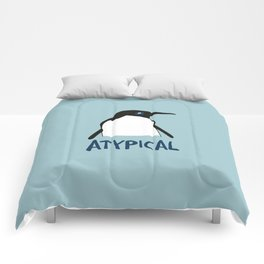 Atypical penguin Comforters