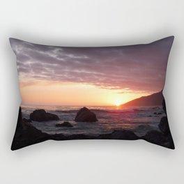 Beauty of the setting sun Rectangular Pillow