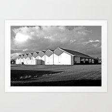 Bowling architecture Art Print