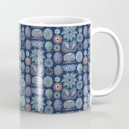 Ernst Haeckel Ascidiae Sea Squirts Cool Blues Coffee Mug