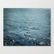 The Sparkle of the Sea Canvas Print