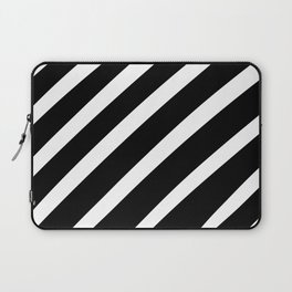 Black'n'White Stripes Laptop Sleeve