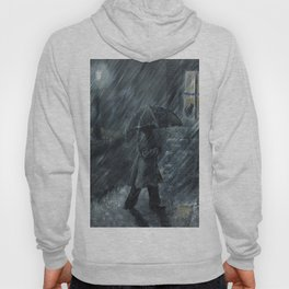 Trudging in the Rain Hoody