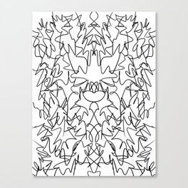 Monsters V6 Canvas Print