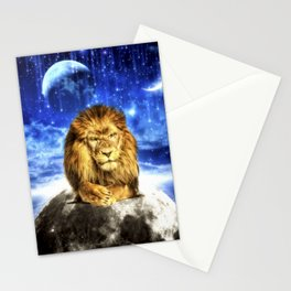 Grumpy Lion Stationery Cards