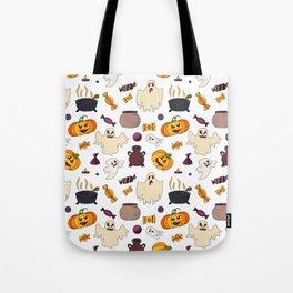 Halloween October Print Tote Bag