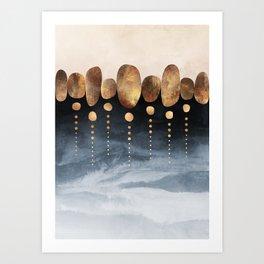 Natural Abstraction 01 Art Print