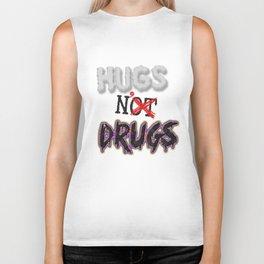 Hugs N' Drugs Biker Tank
