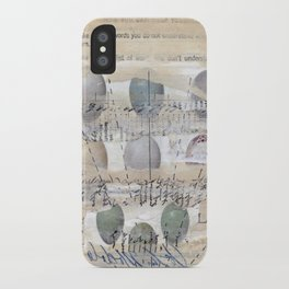 Ascension Through Clouds iPhone Case