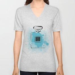 Blue Perfume #2 Unisex V-Neck
