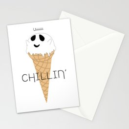 IceCream Ghost Stationery Cards