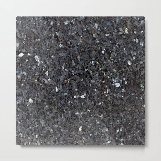 Labrador Emerald Pearl Granite Metal Print