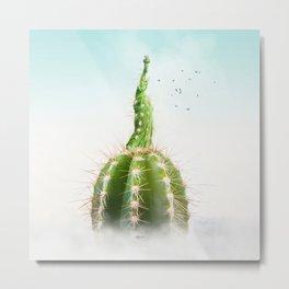 Cactus NY #decor #society6 #buyart Metal Print