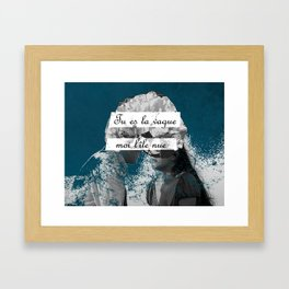 You Are the Wave, I'm the Naked Island II Framed Art Print