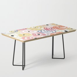 Colorful Flower Bundle Coffee Table