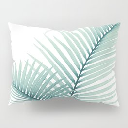 Intertwined - Palm Leaves in Love #3 #tropical #decor #art #society6 Pillow Sham