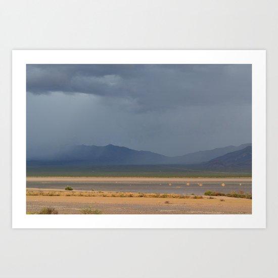 Death Valley Storm 2 Art Print