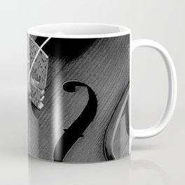 Strings - Black and White Violin Part One A621 Coffee Mug