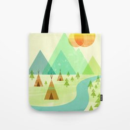 Native Lands Tote Bag