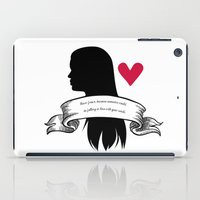 lydia martin iPad Cases featuring Lydia Martin by smartypants