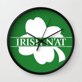 Irish N'at Wall Clock