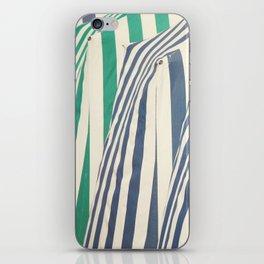 Beach Cabins iPhone Skin