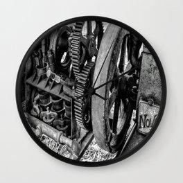 Novo Antique Gas Engine Wall Clock