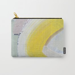 Waves: Lemon Carry-All Pouch