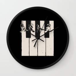 Music is the Way Wall Clock
