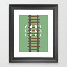 Cool Hand Luke Framed Art Print