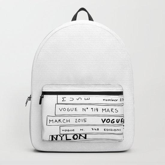 vogue forever Backpack